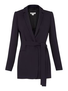Whistles Belted Soft Crepe Jacket