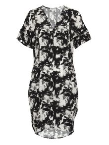 Whistles Suki Floral Print Hannah Dress