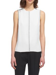 Whistles Stitch Detail Top