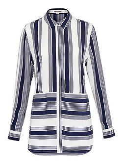 Cut About Casual Stripe Shirt
