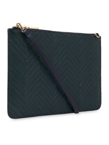 Whistles Woven Rivington Clutch