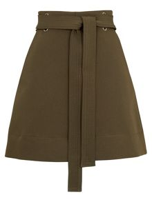 Whistles Mini Belted Skirt