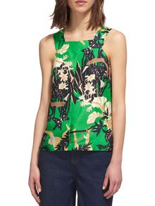 Whistles Limited Lilias Jungle Top