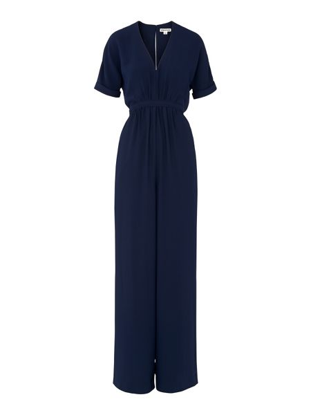 Whistles Buena Gathered Waist Jumpsuit