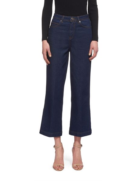 Whistles Cropped Wide Leg Jean