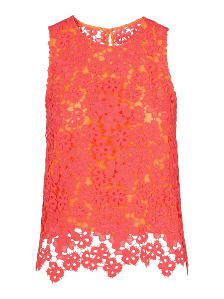 Whistles Meadow Lace Top