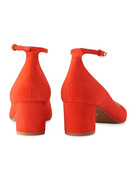 Whistles Ness Patent Mid Heel Mary Jane