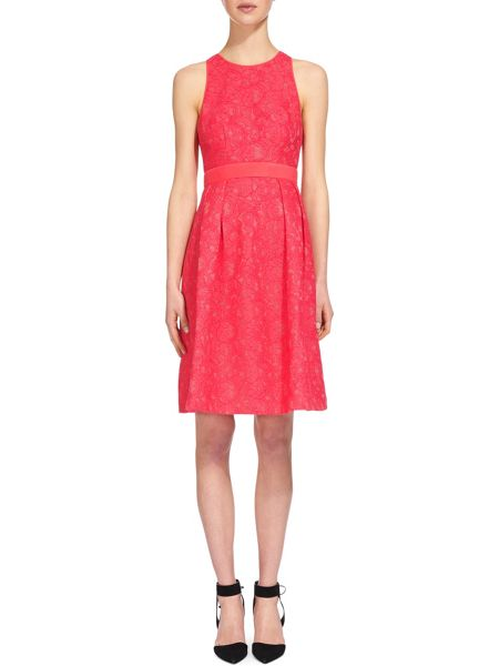 Whistles Bonded Lace Dress