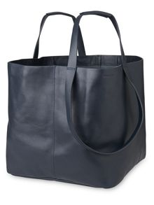 Whistles Java Oversized Leather Tote