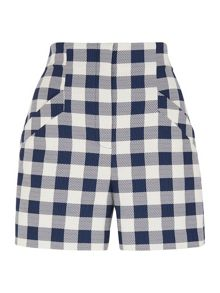 Whistles Craven Check Short