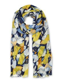 Whistles Animal Strokes Print Scarf