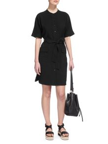 Whistles Katya Belted Shirt Dress