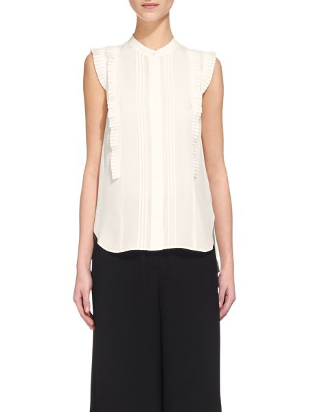 Whistles Pleat Frill Shirt