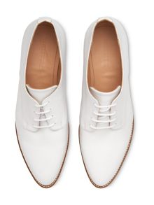 Whistles Ko Wood Lace Up Shoe