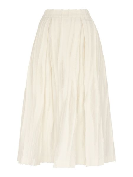 Whistles Textured Full Skirt
