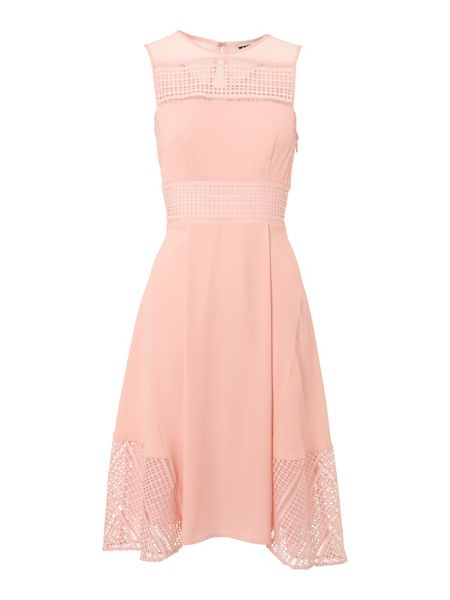 Whistles Maisie Graphic Lace Dress