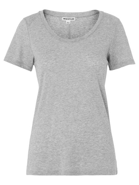 Whistles Maye Seam Back T-shirt