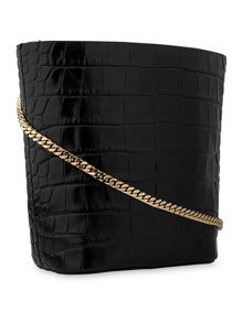 Whistles Broadway Mini Chain Bucket Bag