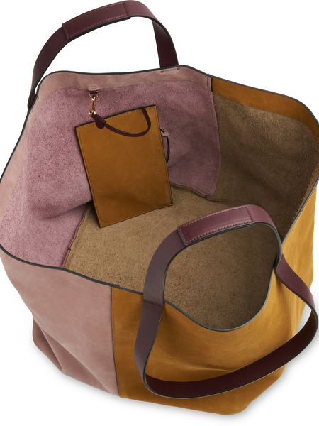 Whistles Java Colourblock Nubuck Tote