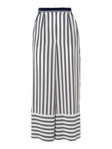 Whistles Cut About Stripe Trouser