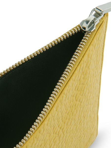 Whistles Bubble Leather Medium Clutch