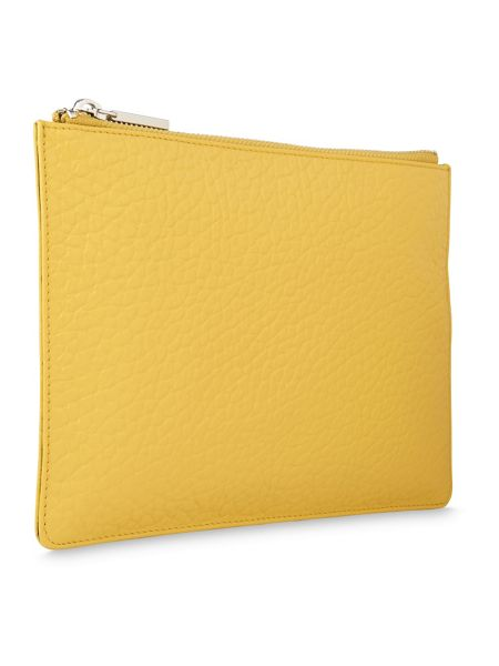 Whistles Bubble Leather Small Clutch