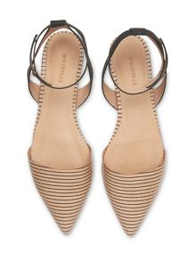 Whistles Grove Slingback Flat Point