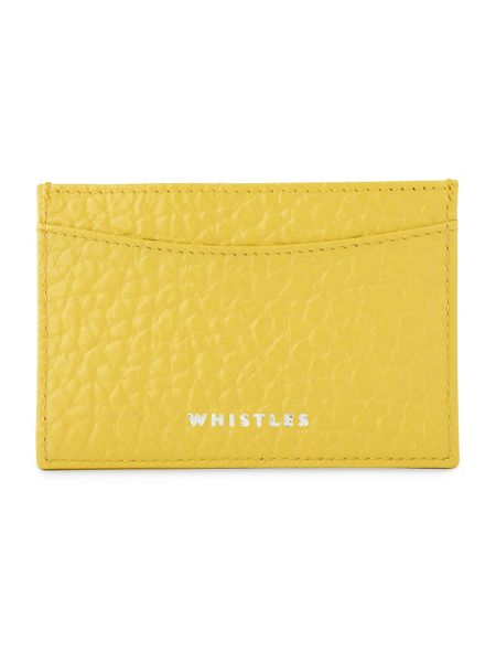 Whistles Bubble Leather Card Holder