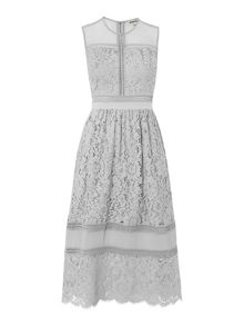 Whistles Amelia Lace Dress