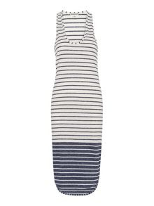 Whistles Bailey Stripe Dress