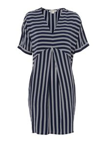 Whistles Cut About Stripe Josie Dress