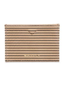 Whistles Stripe Snake Card Holder