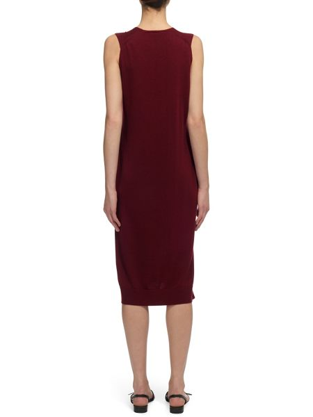 Whistles Tie Front Knit Dress
