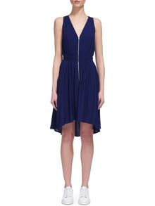 Whistles Zip Front Dress