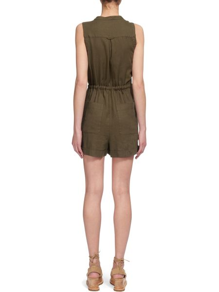 Whistles Linen Playsuit