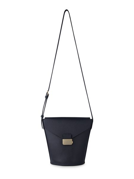 Whistles Artesia Presslock Bucket Bag