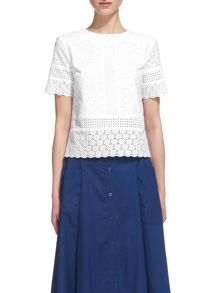 Whistles Broiderie Anglaise Top