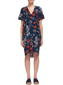 Whistles Bluebell Print Hannah Dress