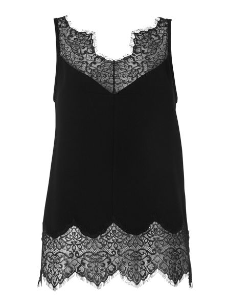Whistles Milandra Lace Trim Cami
