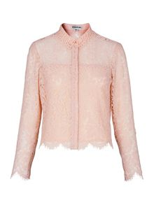 Whistles Chay Lace Shirt