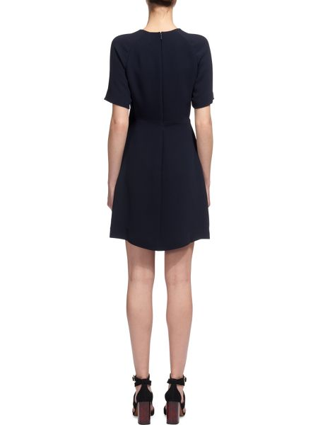 Whistles Jade Wrap Over Dress