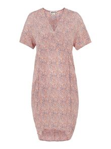 Whistles Double Dot Print Hannah Dress