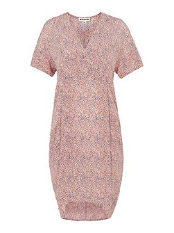 Double Dot Print Hannah Dress