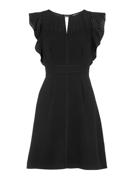 Whistles Frill Sleeve Dress