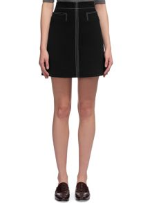 Whistles Rita Contrast Stitch Skirt