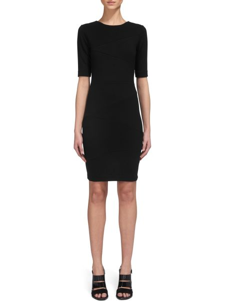 Whistles Kerry Jersey Bandage Dress
