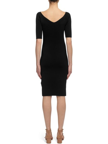 Whistles Bardot Knit Dress