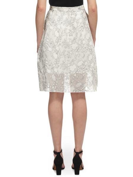 Whistles Marrion Full Lace Skirt