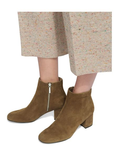 Whistles Logan Square Toe Suede Boot