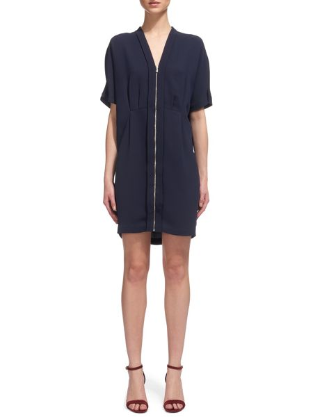 Whistles Freida Zip Front Dress